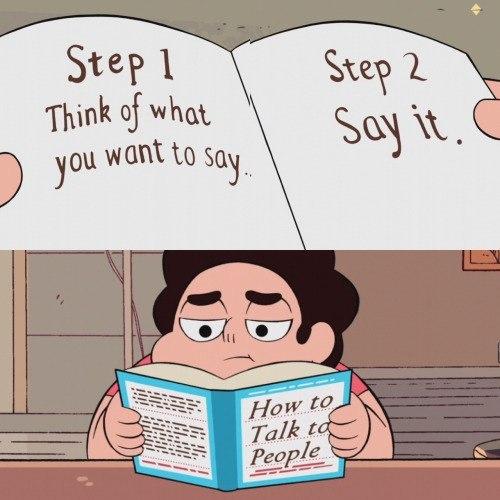 Как разговаривать с людьми Steven Universe, вселенная стивена, капитан очевидность