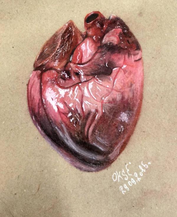 Сердце на крафте