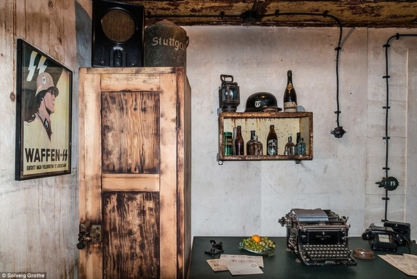Забытый подземный город нацистов в Нидерландах Длиннопост, Нидерланды, Бункер, Daily Mail