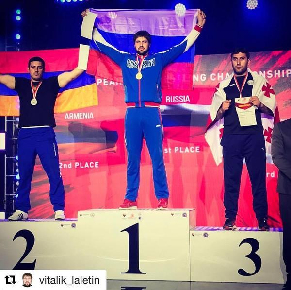 Дальнобойщик из Красноярска Виталий Лалетин стал Чемпионом Европы 2017 по армрестлингу, на левой и на правой руках, офромил золотой дубль!