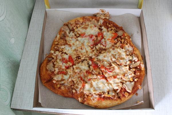 Пицца из пиццерии нашего города Пицца, Рукожоп