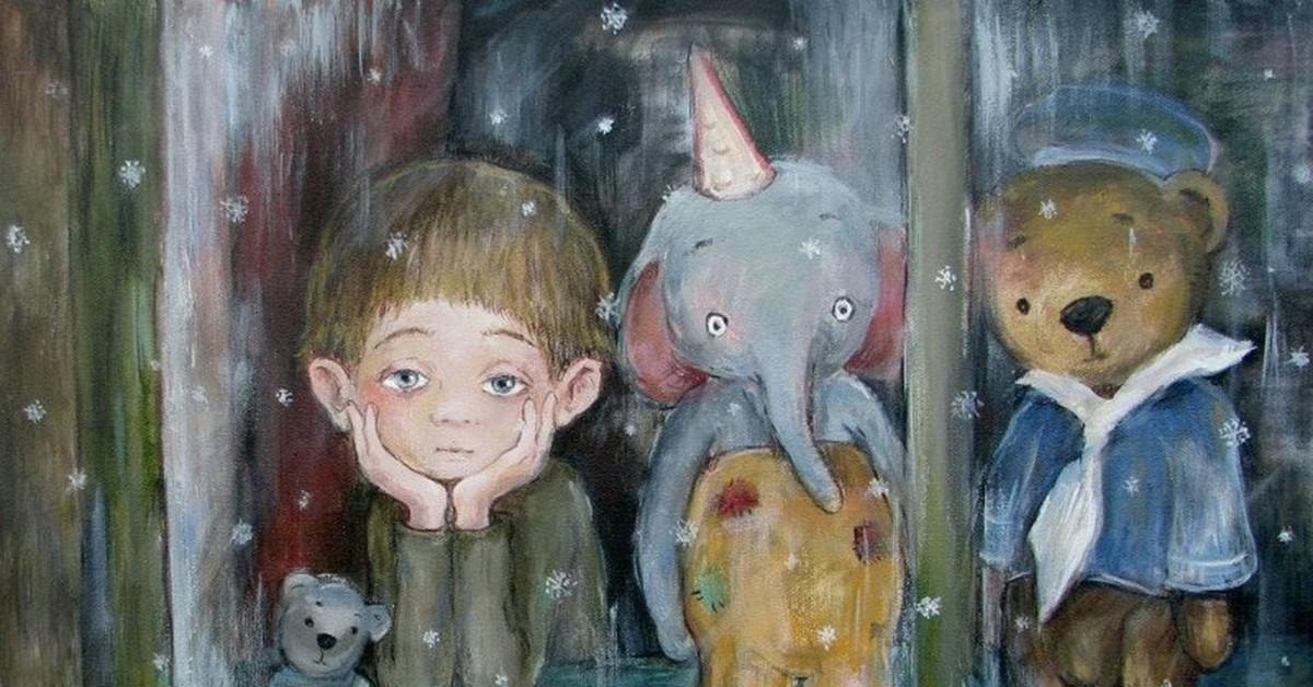 Грусти, картинки грустное настроение для детей