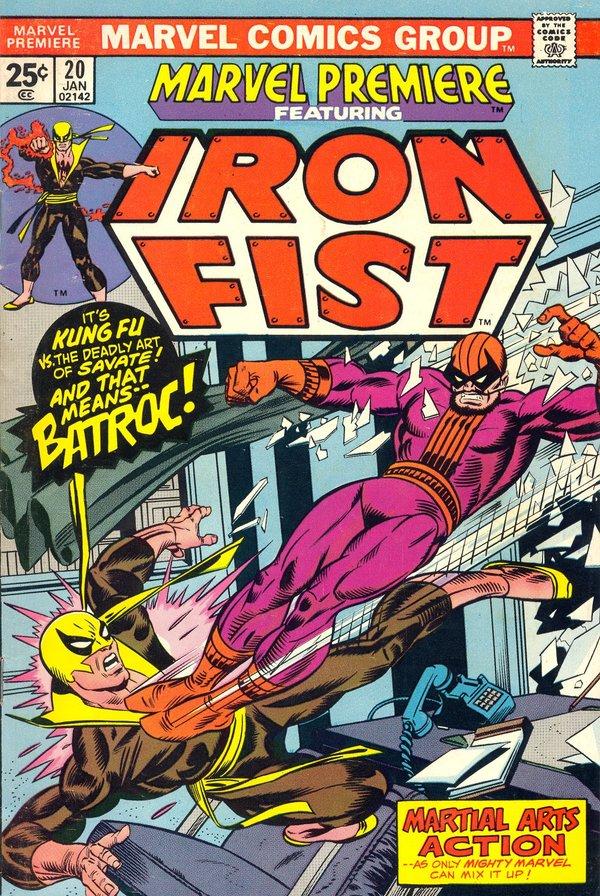 Знакомство с комиксами: Marvel Premiere #20 Супергерои, Marvel, Железный кулак, Кунг-Фу, Комиксы-Канон, Длиннопост