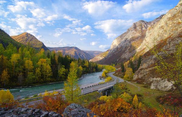 Чуйский тракт вошел в десятку самых красивых дорог мира туризм, Россия, фотография, путешествия, Интересное, Природа, пейзаж