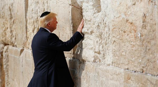 Боженька, дай мне... а впрочем у меня все уже есть... Трамп, Израиль, Стена