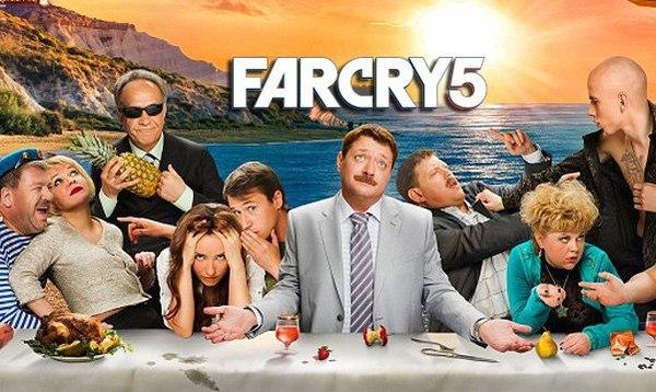 Что мне напоминает постер Far Cry5