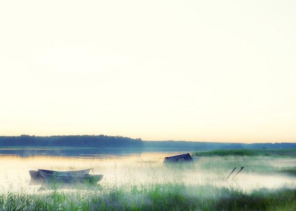 Рассвет на реке Вирта Фотография, Рассвет, Вирта