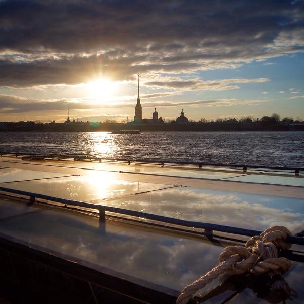 Питер и тёплый весенний закат Фотография, Санкт-Петербург, весна, instagram