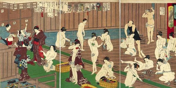 Онсен - японская баня онсен, баня, япония, Токио, длиннопост