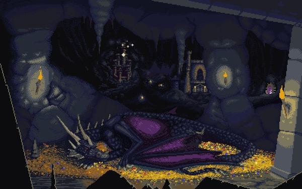Heroes 3 Dungeon Pixel Art, Герои меча и магии 3, HOMM III, Гифка, Фэнтези, Моё, Coub