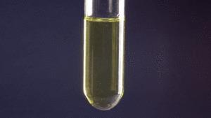 Нарядная химия Химия, Окисление, Ванадий, Цинк, Соляная кислота, Реакция, Познавательно, Гифка