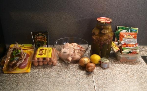 Божественный мужской супец - солянка сборная мясная! Еда, Кулинария, Рецепт, Лига Кулинаров, Солянка, Специи, Видео, Длиннопост