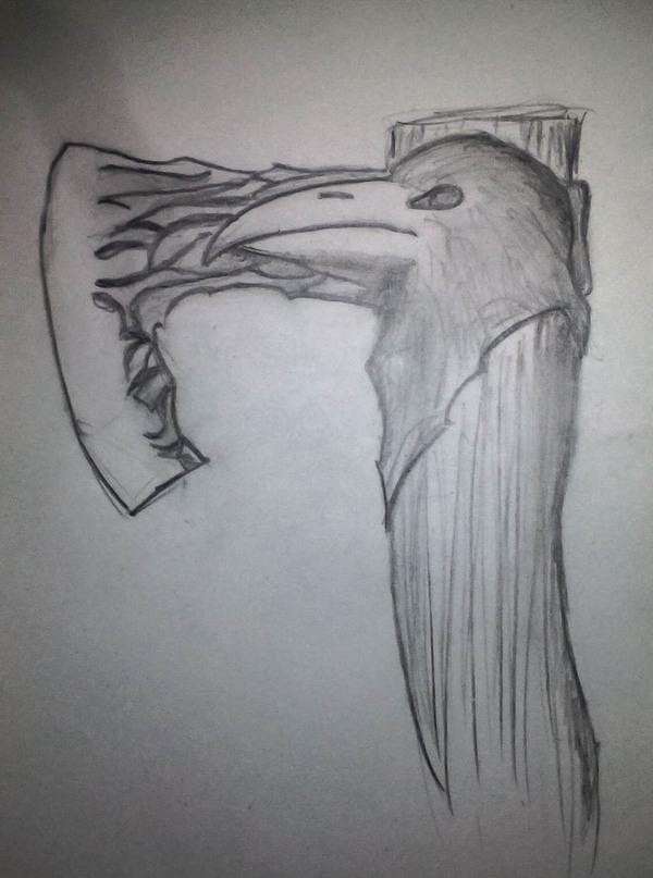 Красивый функциональный топор своими руками топор, сварка, ворон, закалка, своими руками, полный процесс, сделай сам, видео, длиннопост