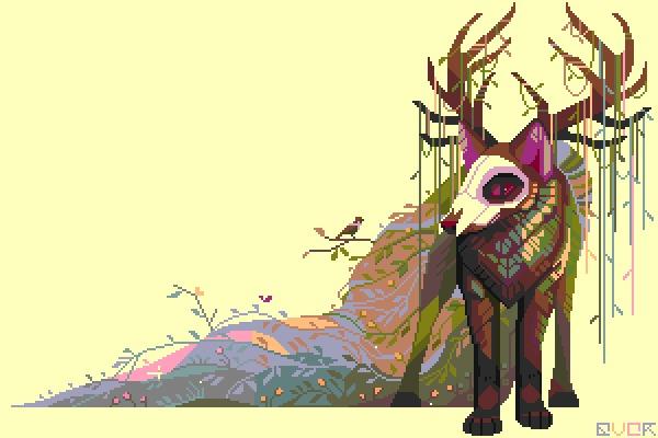 Doggies Pixel art, Арт, Гифка, Анимация, Творчество