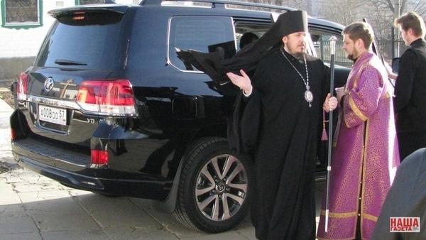 Епископ Екатеринбургской епархии дал совет, как принимать в дар дорогие внедорожники религия, политика, авто, екатеринбург, орловская область, скандал, совет, длиннопост