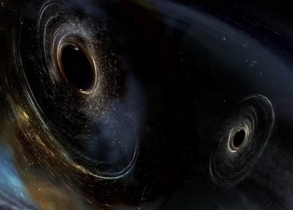 LIGO поймал гравитационные волны от столкновения необычных черных дыр наука, новости, ligo, гравитационные волны, Черная дыра, видео