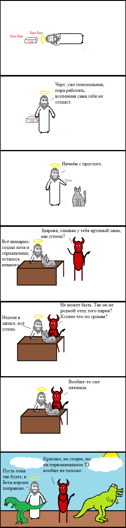 Создавательское Комиксы, длиннопост, cynicmansion, креационизм