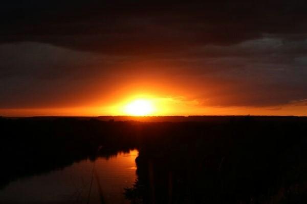 Урюпинск. Маленькая столица Российской провинции. Закат, Урюпинск, Хопер, Река, Без фильтров