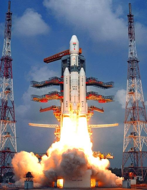 Индия впервые запустила ракету-носитель грузоподъемностью 4 тонны индия, космос, ТАСС, GSLV-Mk