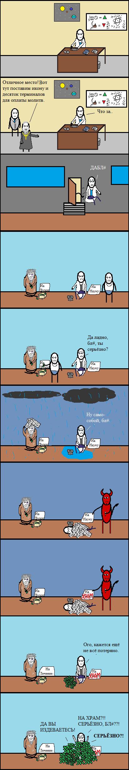 Научно-несправедливое. cynicmansion, Комиксы, длиннопост