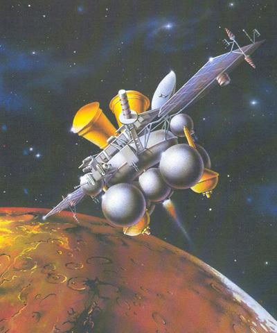 Фобос-Грусть фобос-грунт, Роскосмос, Марс, Россия, космос, космонавтика, видео, гифка, длиннопост