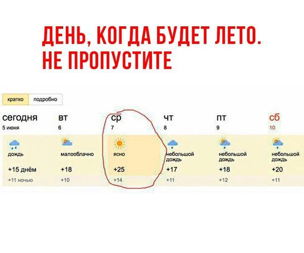 Погодка Погода, Грусть