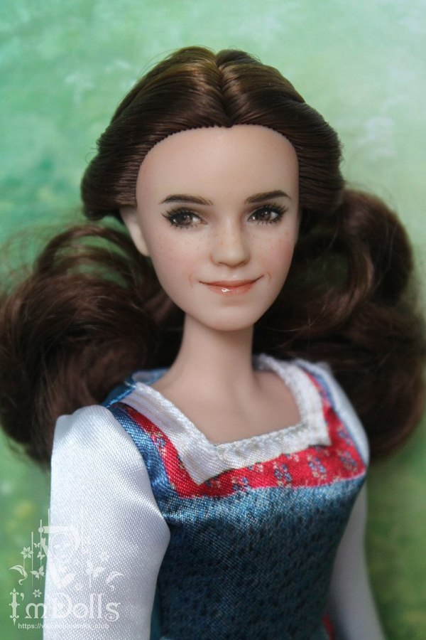 Творчество моей жены длиннопост, Дисней, куклы, красавица и чудовище, Эмма Уотсон, Гермиона, ооак, repaint