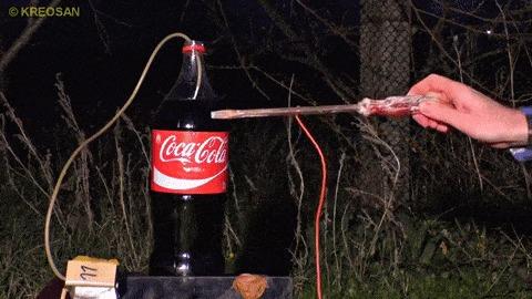 Месть колы Эксперимент, Kreosan, Coca-Cola, Месть, И тут реклама, Гифка