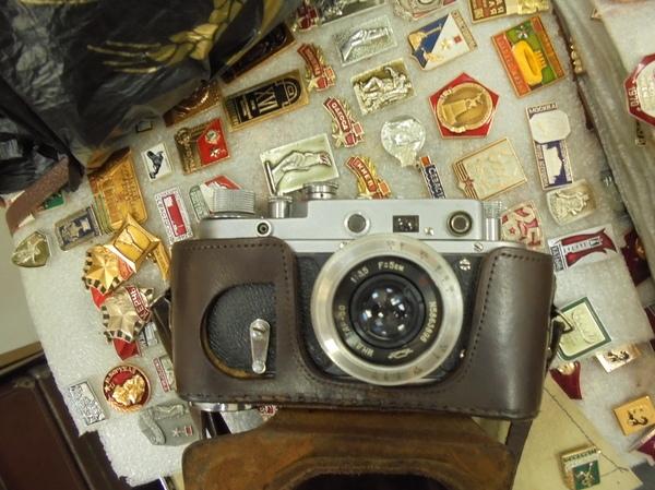 Неожиданная находка в комиссионке. история, рассказ, барахолка, антиквариат, коллекционирование, Фотоаппарат, ссср, фотография, длиннопост
