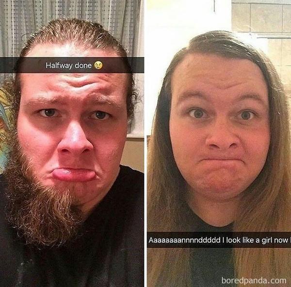 """""""Моя жена попросила меня сбрить бороду. Она сказала, что я снова буду выглядеть молодо"""""""