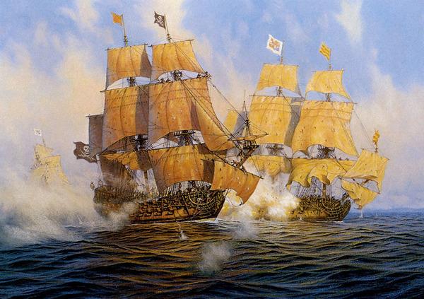 """Игромифы о пиратах: мужики войны и корабли баталии, или """"Причем тут Manowar?"""" Мифы, Корсары, военные корабли, Корабль, Парусник, линкор, Фрегат, длиннопост"""