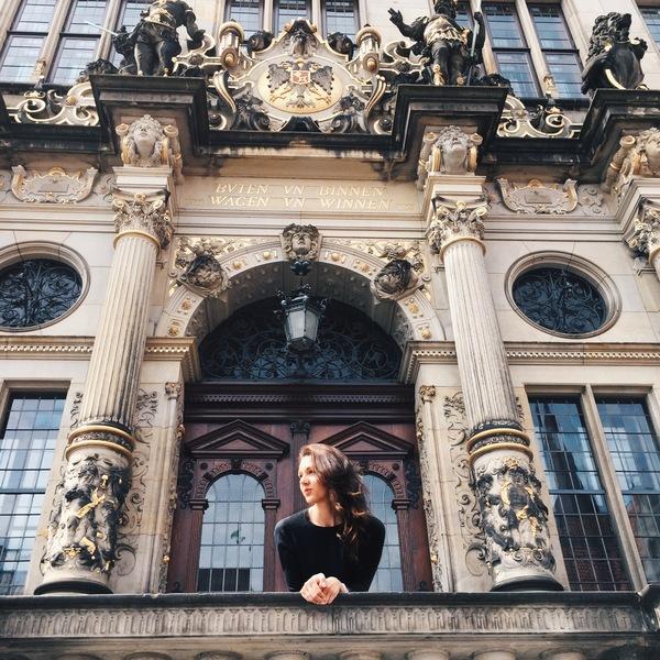 Волшебный Бремен :) Мобильная фотография, Бременские музыканты, Бремен, Германия, Iphone 6, Instagram, Длиннопост