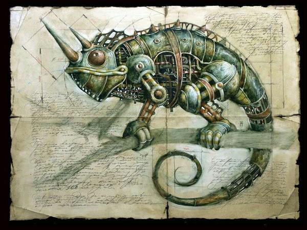 Какого цвета хамелеон наука и техникаа, Животные, Хамелеон, научно-популярное, биология