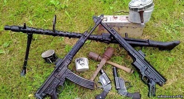 Оружие из болота