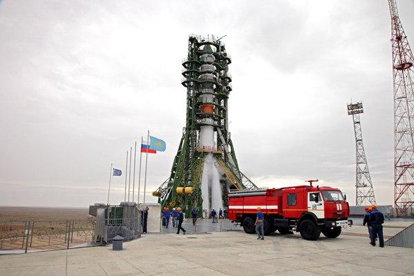 Фото с запуска «Прогресс МС-06» 14 Июня от Роскосмоса Роскосмос, Прогресс МС, Запуск, фотография, космонавтика, длиннопост