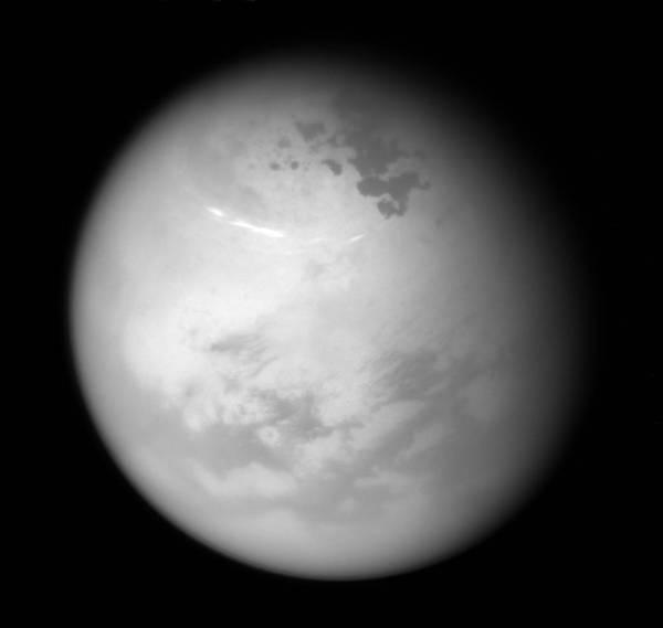 Северное лето на Титане титан, Кассини, космос