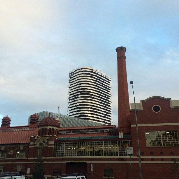 Здание-картина Австралия, небоскреб, архитектура, интересное, длиннопост, Познавательно
