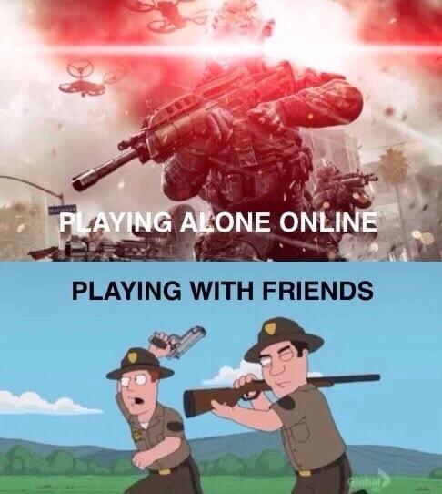 Как я играю. Игры, Онлайн, Друзья