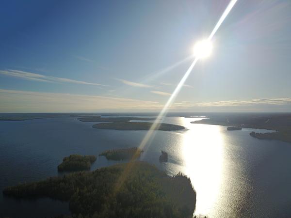 Карелия, Ведлозеро природа, природа России, карелия, квадрокоптер, с высоты