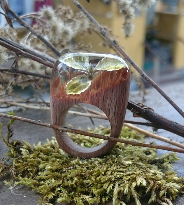 Кольца, которые уже всех утомили..из дерева и эпоксидной смолы. Кольцо, Эпоксидная смола, Муж, Длиннопост