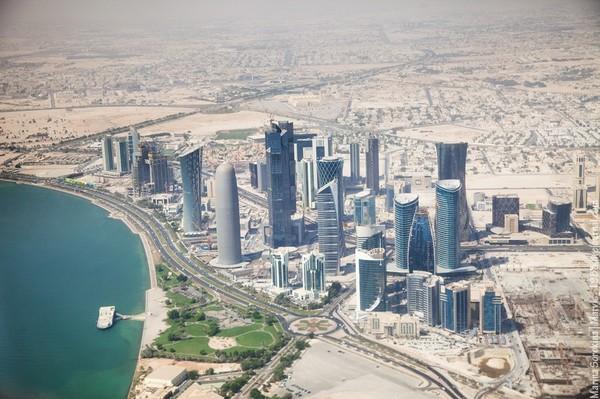 Катар, Доха, 2016 год катар, путешествия, город, небоскреб, длиннопост
