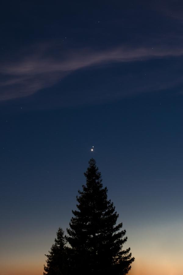Юпитер и Венера