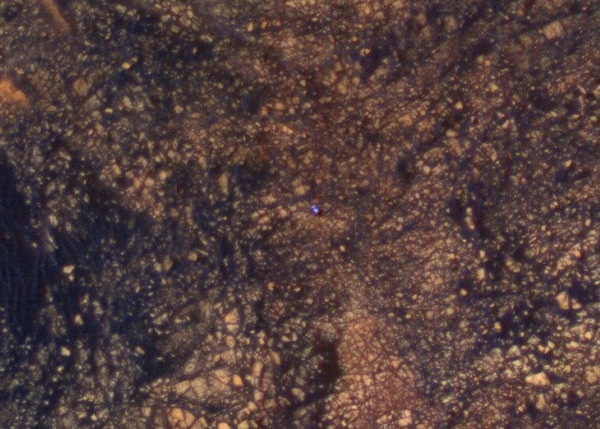 Спутник заснял взбирающийся на гору Шарпа Curiosity новости, Curiosity, марс, Марсоход, космос
