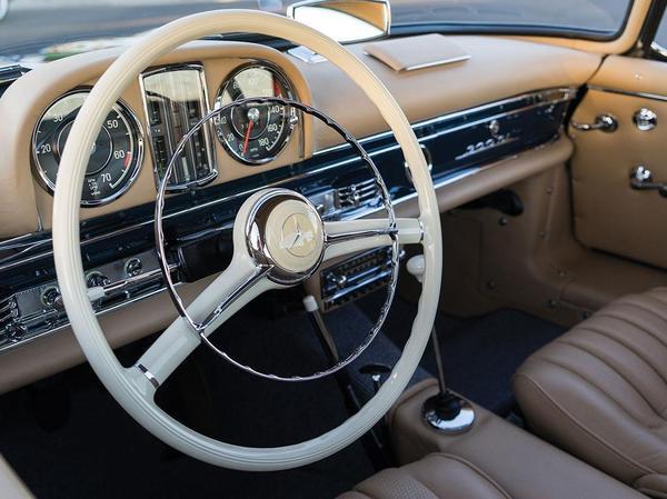 1960 Mercedes-Benz 300 SL Roadster Авто, Ретро, Мерседес, Длиннопост
