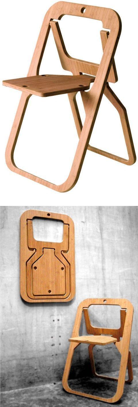 Самый плоский складной стул Складной, Раскладной стул, складной стул, стул, плоско, дизайин, мебель, длиннопост