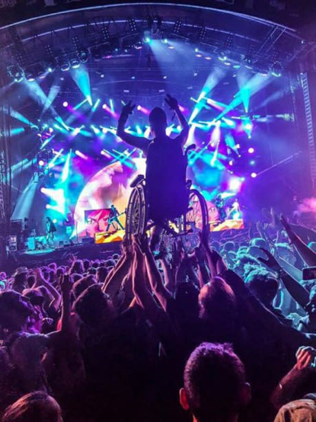 "На метал фестивале ""Hellfest"". Франция. Metal, Hellfest, Музыка, Фестиваль, Поддержка"