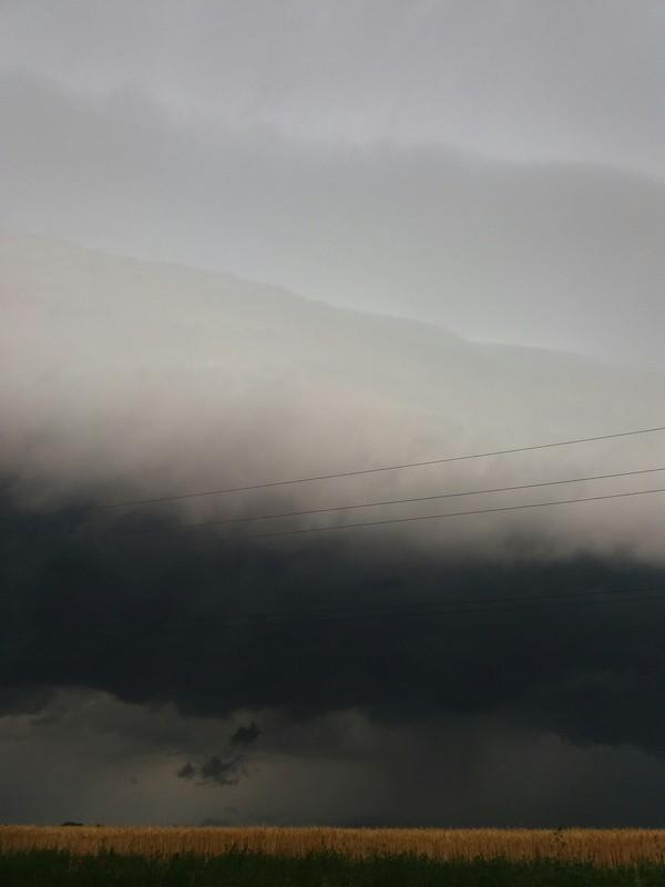 Кажется дождик начинается.... Хорошая погода, Облака, Поле, Дождь, Ураган, Фотография, Длиннопост
