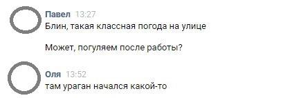 Коротко о погоде в Москве Погода, Переписка, ВКонтакте