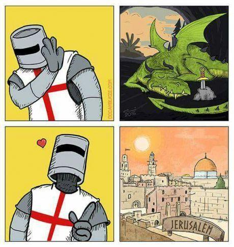 Что любят крестоносцы