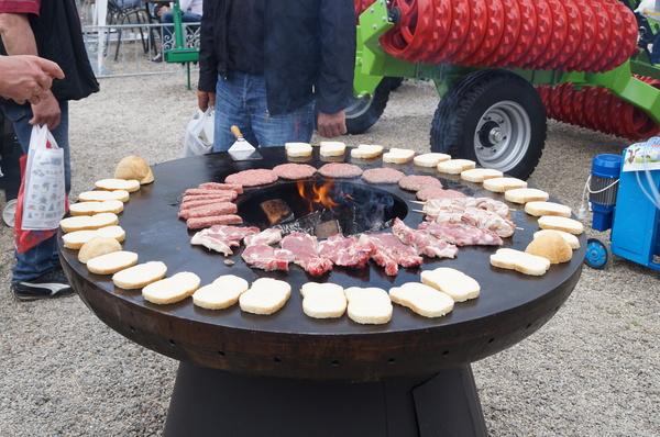 Интересный столик для хорошей компании мангал, вкусняшки, отдых, сербия